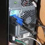 zapojení monitoru do integrované grafické karty