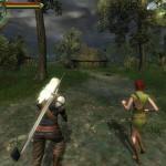 Shani a Geralt